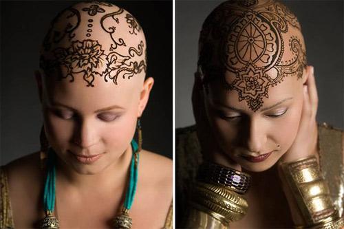 Xăm lên đầu giúp phụ nữ xinh đẹp hơn - 2