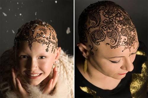 Xăm lên đầu giúp phụ nữ xinh đẹp hơn - 3
