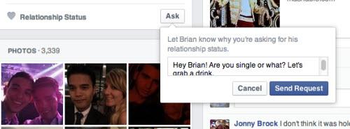 Facebook có tính năng hỏi về tình trạng hôn nhân - 2