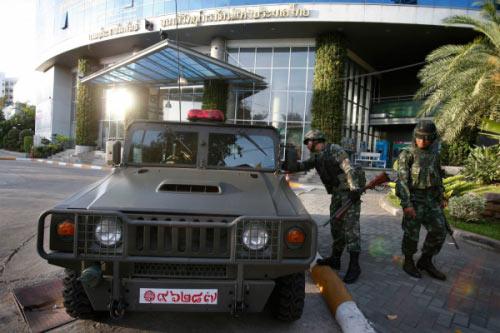 Chùm ảnh: Thái Lan trong tình trạng thiết quân luật - 1