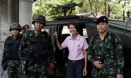 Chùm ảnh: Thái Lan trong tình trạng thiết quân luật - 10