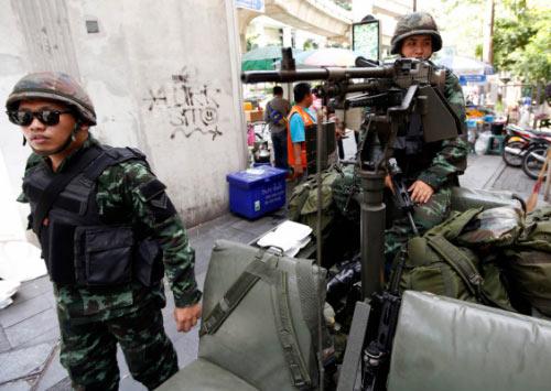 Chùm ảnh: Thái Lan trong tình trạng thiết quân luật - 11