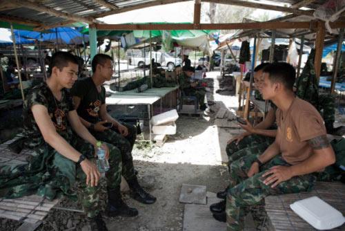 Chùm ảnh: Thái Lan trong tình trạng thiết quân luật - 12
