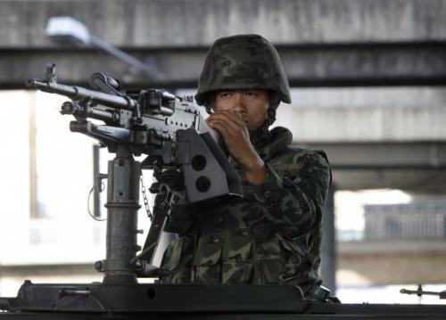 Chùm ảnh: Thái Lan trong tình trạng thiết quân luật - 14