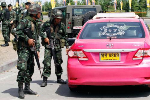 Chùm ảnh: Thái Lan trong tình trạng thiết quân luật - 3