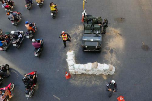 Chùm ảnh: Thái Lan trong tình trạng thiết quân luật - 6