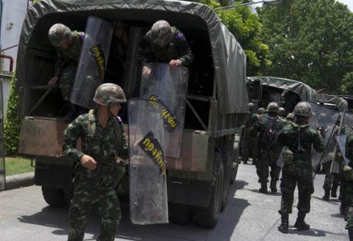 Chùm ảnh: Thái Lan trong tình trạng thiết quân luật - 7