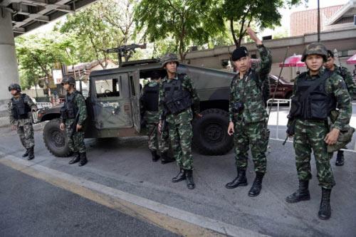 Chùm ảnh: Thái Lan trong tình trạng thiết quân luật - 8