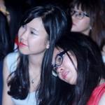 Bạn trẻ - Cuộc sống - Học trò trường Ams bật khóc trong đêm chia tay