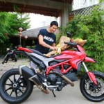 Ô tô - Xe máy - Johnny Trí Nguyễn tậu xe Ducati giá hơn 400 triệu