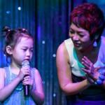 Con gái 6 tuổi của Thái Thùy Linh hát vì biển đảo