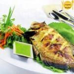 Ẩm thực - Ngon mê ly món cá nướng chấm muối ớt xanh