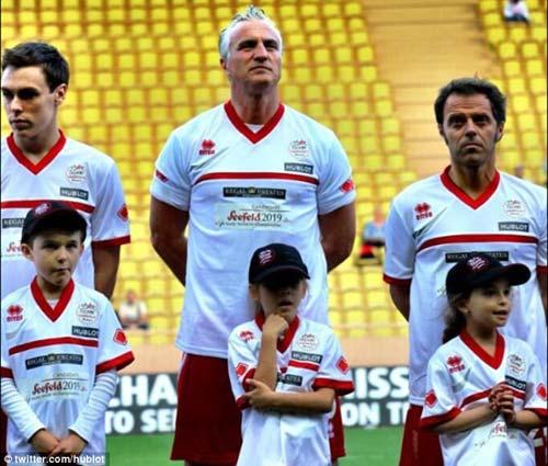 Djokovic và dàn SAO F1 so tài đá bóng - 4