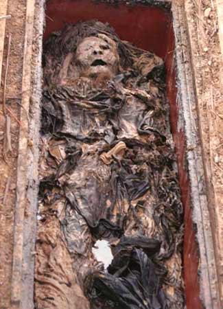 Xác ướp có số phận hẩm hiu ở vườn đào Nhật Tân - 1