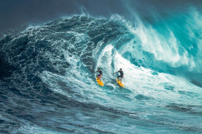 1. Lướt sóng.  Lướt sóng là môn thể thao xuất hiện ở Hawaii hàng trăm năm trước.
