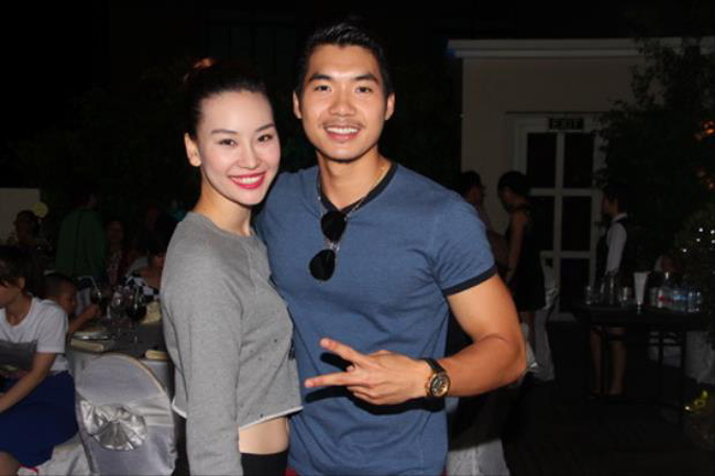 Trương Nam Thành và Phạm Thùy Linh là một cặp đôi mới trong showbiz Việt.