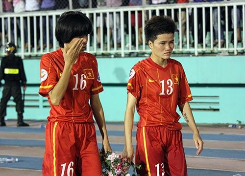 ĐT nữ Việt Nam: Nước mắt lại rơi trước người Thái - 11