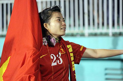ĐT nữ Việt Nam: Nước mắt lại rơi trước người Thái - 12