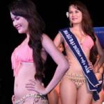 Lộ mỡ bụng vẫn đoạt giải Người đẹp Bikini