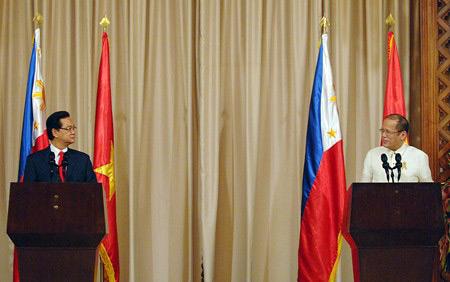 Việt Nam-Philippines: Kiên quyết phản đối TQ ở Biển Đông - 1