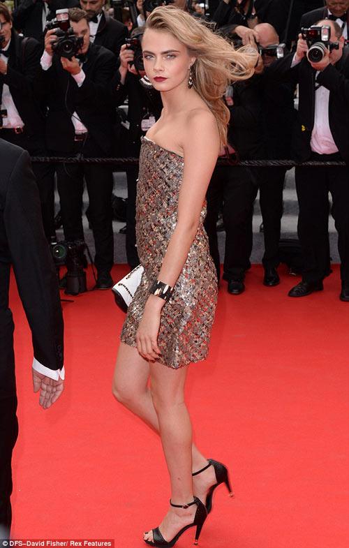 """Hoa hậu, siêu mẫu """"đánh cắp"""" thảm đỏ Cannes ngày 8 - 1"""