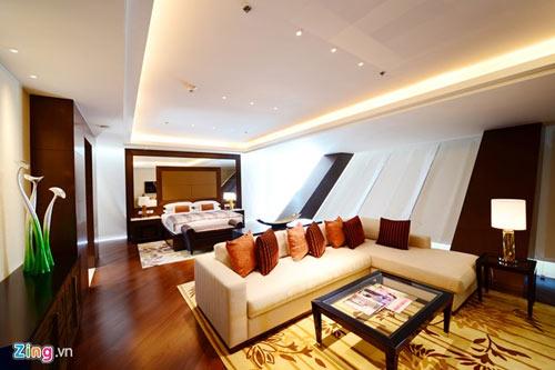 Phòng tổng thống 140 triệu đồng/đêm tại khách sạn con rồng - 10