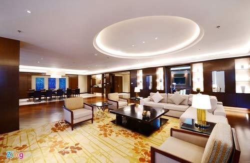 Phòng tổng thống 140 triệu đồng/đêm tại khách sạn con rồng - 2