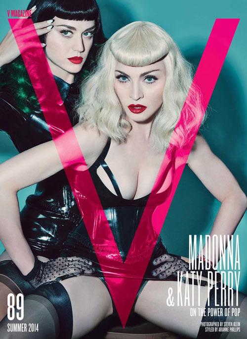 Sốc: Madonna, Katy Perry làm cặp đôi chủ-nô tình dục - 1