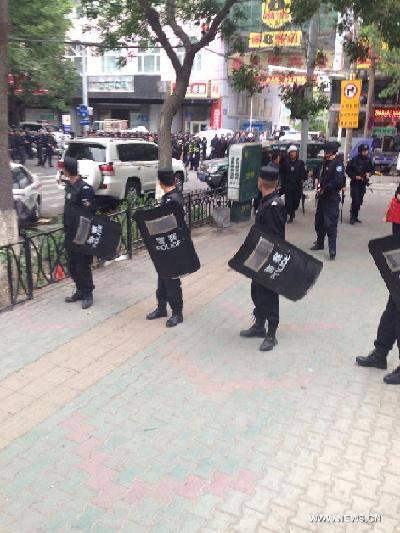 TQ: Lại đánh bom chết người ở thủ phủ Tân Cương - 1
