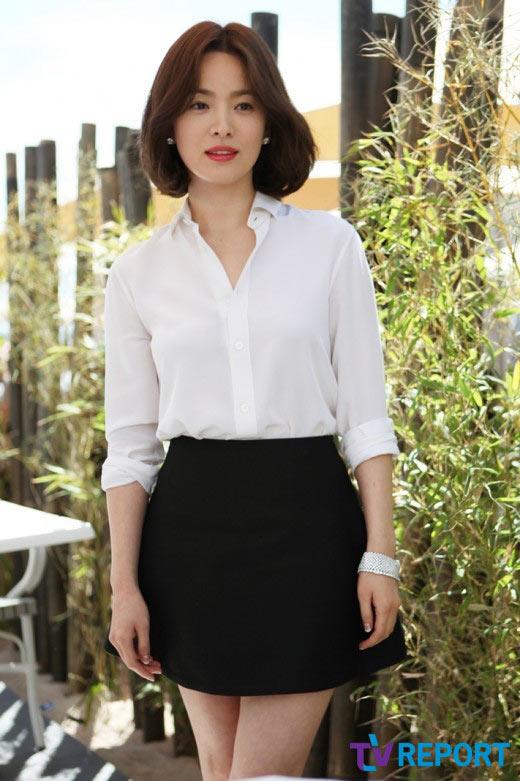 Song Hye Kyo hấp dẫn với đôi môi mời gọi - 4
