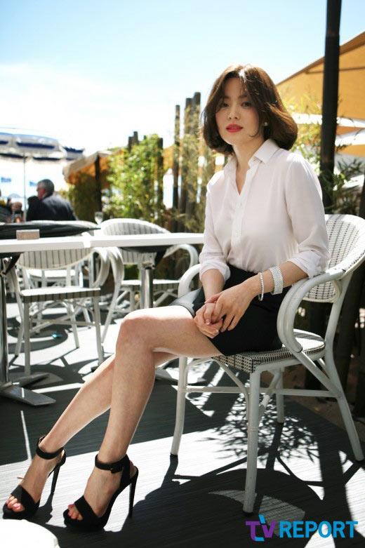 Song Hye Kyo hấp dẫn với đôi môi mời gọi - 5
