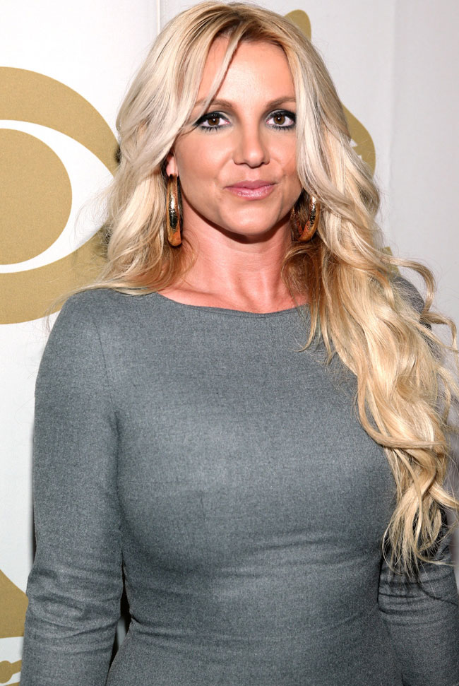 Sau khi lên cân, vòng 1 của Britney đã lớn lên trông thấy