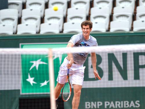 Cận cảnh Federer, Nole tập luyện trước Roland Garros - 7