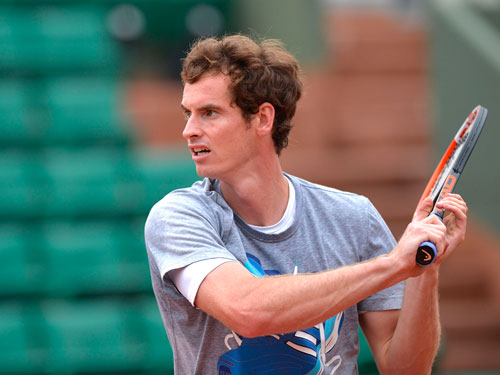 Cận cảnh Federer, Nole tập luyện trước Roland Garros - 8