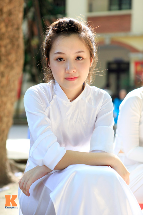 Nữ sinh Hà thành đọ vẻ xinh đẹp - 3