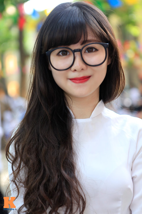Nữ sinh Hà thành đọ vẻ xinh đẹp - 7
