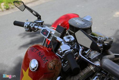 Harley-Davidson 3 bánh in hình quốc kỳ Việt Nam - 7