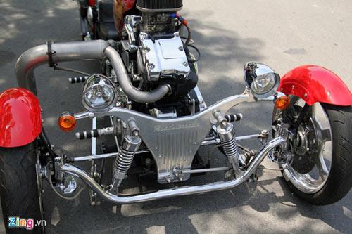 Harley-Davidson 3 bánh in hình quốc kỳ Việt Nam - 8