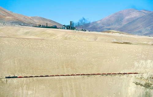 Tuyến xe lửa ngoạn mục trên dãy núi Andes - 13