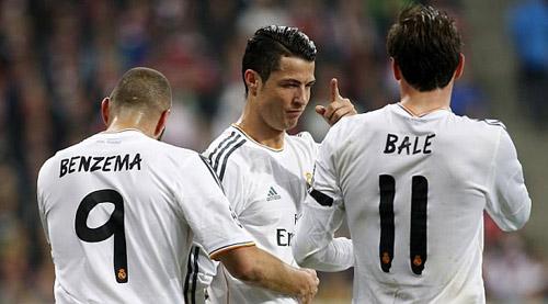 "Real Madrid: Kéo ""tam pháo BBC"" tới Lisbon - 2"