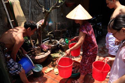 Hàng ngàn hộ dân HN sẽ tiếp tục mất nước trong 6 ngày tới - 1