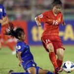 Bóng đá - ĐT nữ Việt Nam thua Thái Lan về mọi mặt