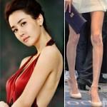"""Làm đẹp - Sao Hàn gây sốc với đôi chân """"que tăm"""""""