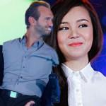 Ngôi sao điện ảnh - Vy Oanh rạng rỡ chung sân khấu với Nick Vujicic