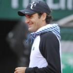 Thể thao - Cận cảnh Federer, Nole tập luyện trước Roland Garros