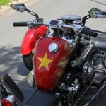 Ô tô - Xe máy - Harley-Davidson 3 bánh in hình quốc kỳ Việt Nam