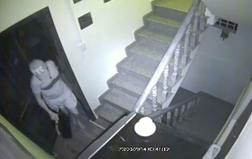 Camera ghi hình tên trộm đột nhập nhà tiến sĩ tâm lý - 3