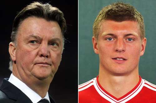 MU: Van Gaal nói không với Toni Kroos - 1