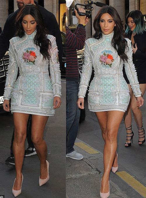 Cô Kim mặc váy giống Angela Phương Trinh - 2