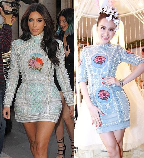Cô Kim mặc váy giống Angela Phương Trinh - 3